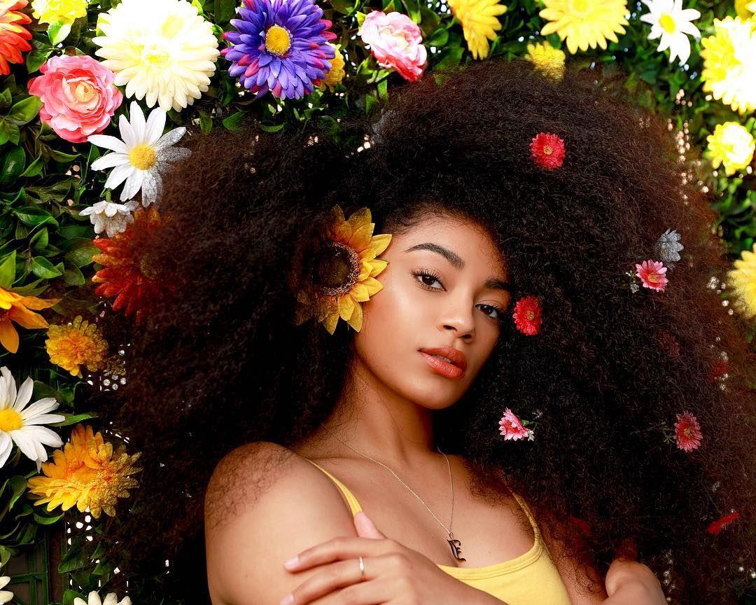 """Jasmine Brown on Instagram """"Flower child🌻🌼🌸🌺 Photo by"""