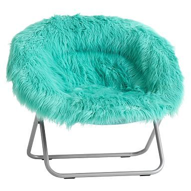 Marvelous Pool Fur Rific Faux Fur Hang A Round Chair #pbteen | Things I Want For  Christmas | Pinterest | Round Chair