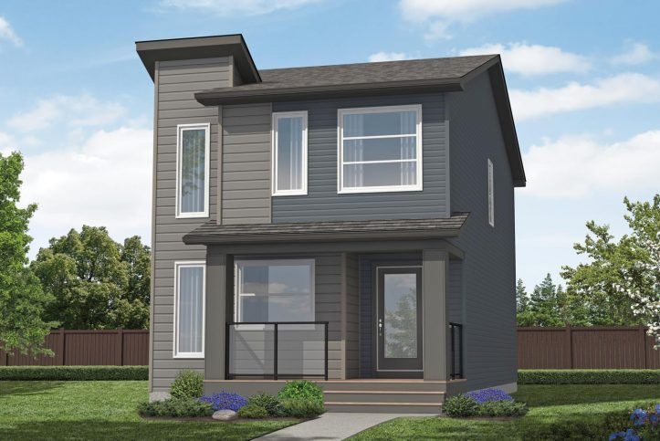 Cute two story home idea huntley from excel homes canada