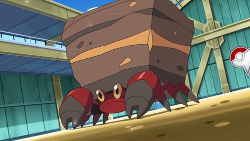 Crustle Pokemon, Anime, Inktober