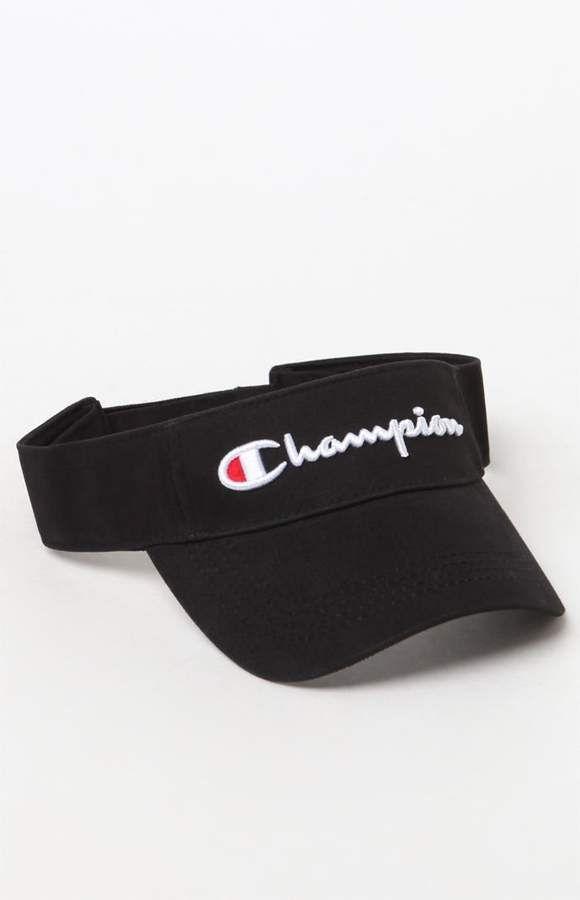 Champion Twill Mesh Visor  a4f7e448fca