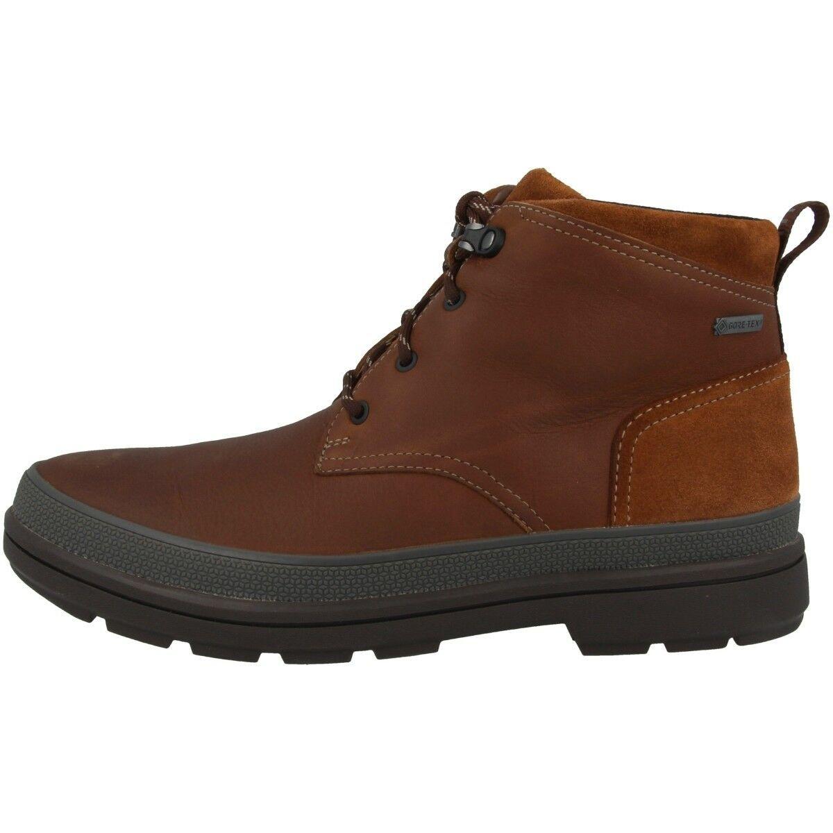 Identidad a pesar de Casa  Clarks Rushway Mid GTX Zapatos Hombre Gore-Tex Botas British Tostado  26135554 · $117.04 | Zapatos hombre, Clarks, Zapatos