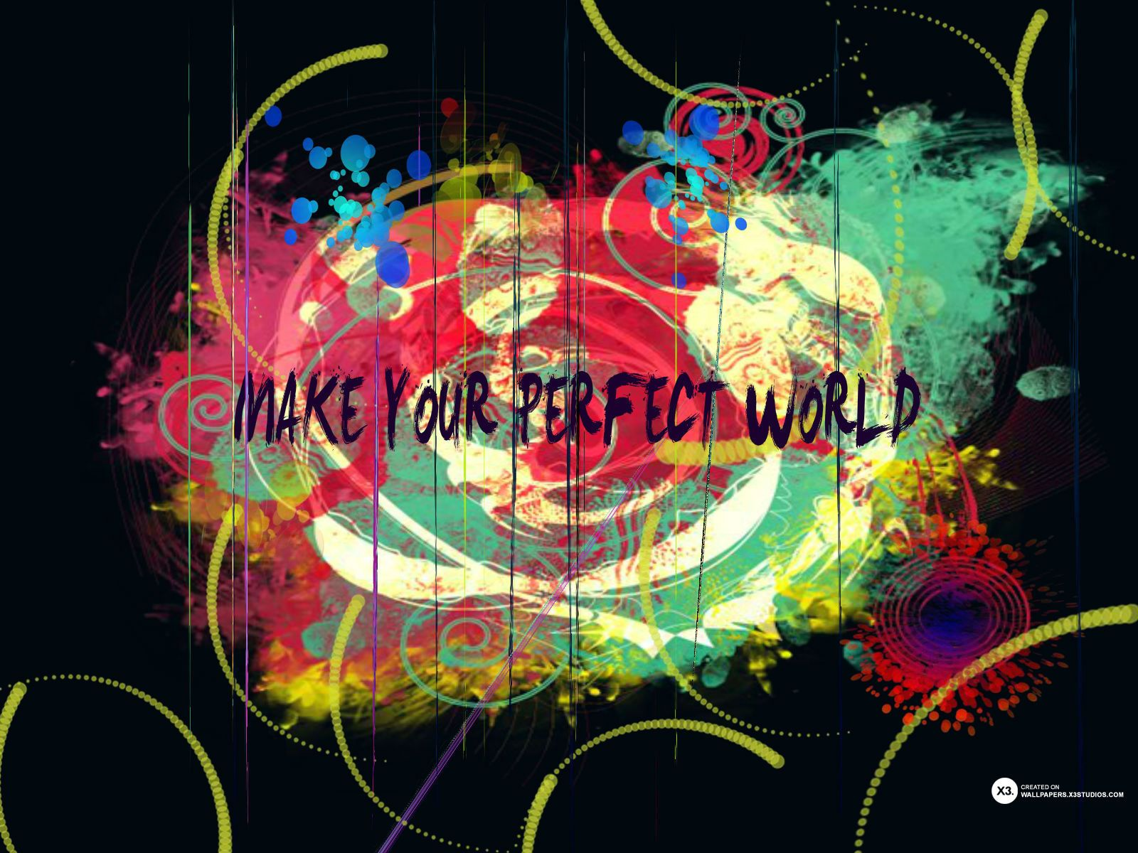 Leave Your Personal Mark On Everything You Do And Make Own Perfect World Go