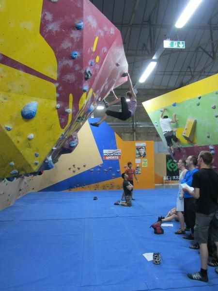 Improvement session at The Climbing Academy   Glasgow Events
