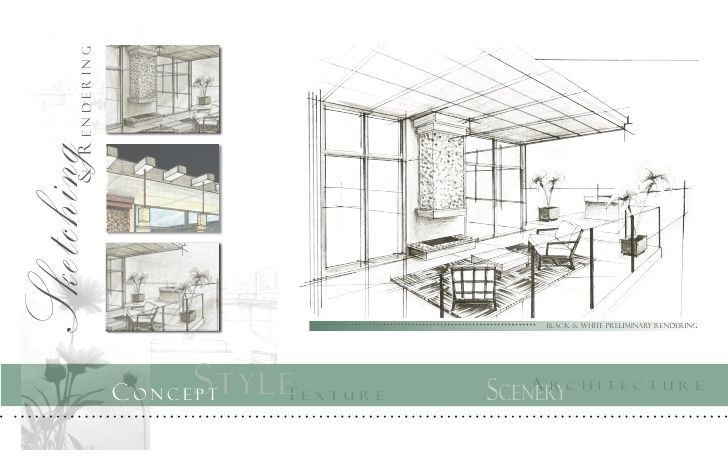 interior design digital presentation sheets - Google Search ...