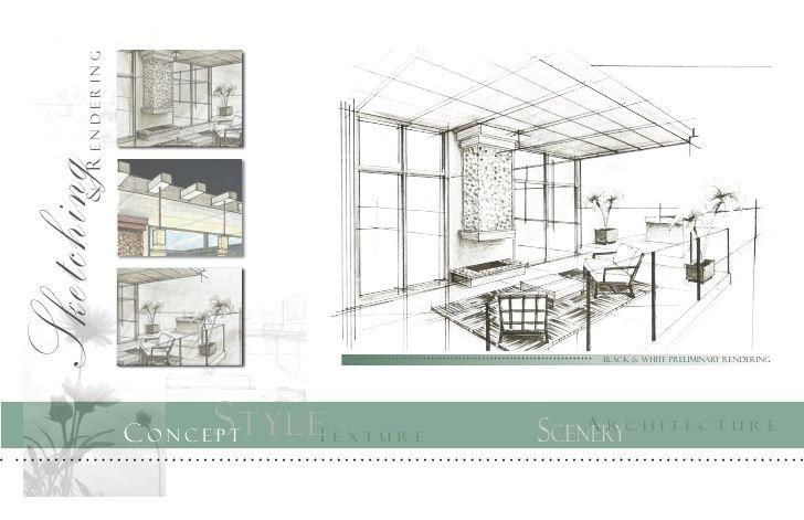 Digital Interior Design Portfolio With Images Interior Design