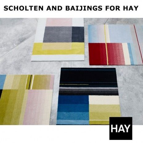 COLOUR CARPET, high defined and richly coloured rugs, HAY - deco and design