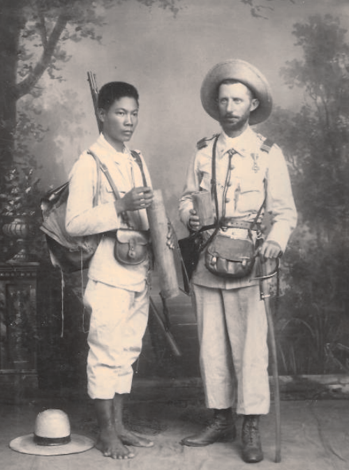Image result for Victorian era Filipino soldiers