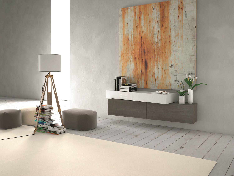 Mueble contenedor composable modular suspendido muebles for Presotto industrie mobili spa