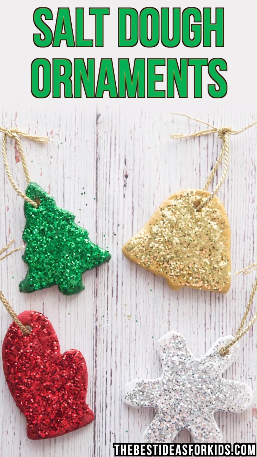 Salt Dough Ornament Recipe #diychristmasgifts