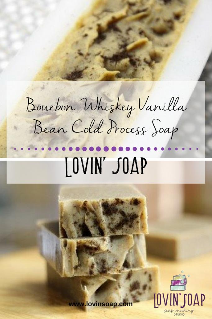 Bourbon Whiskey Vanilla Bean Cold Process Soap – Lovin Soap Studio