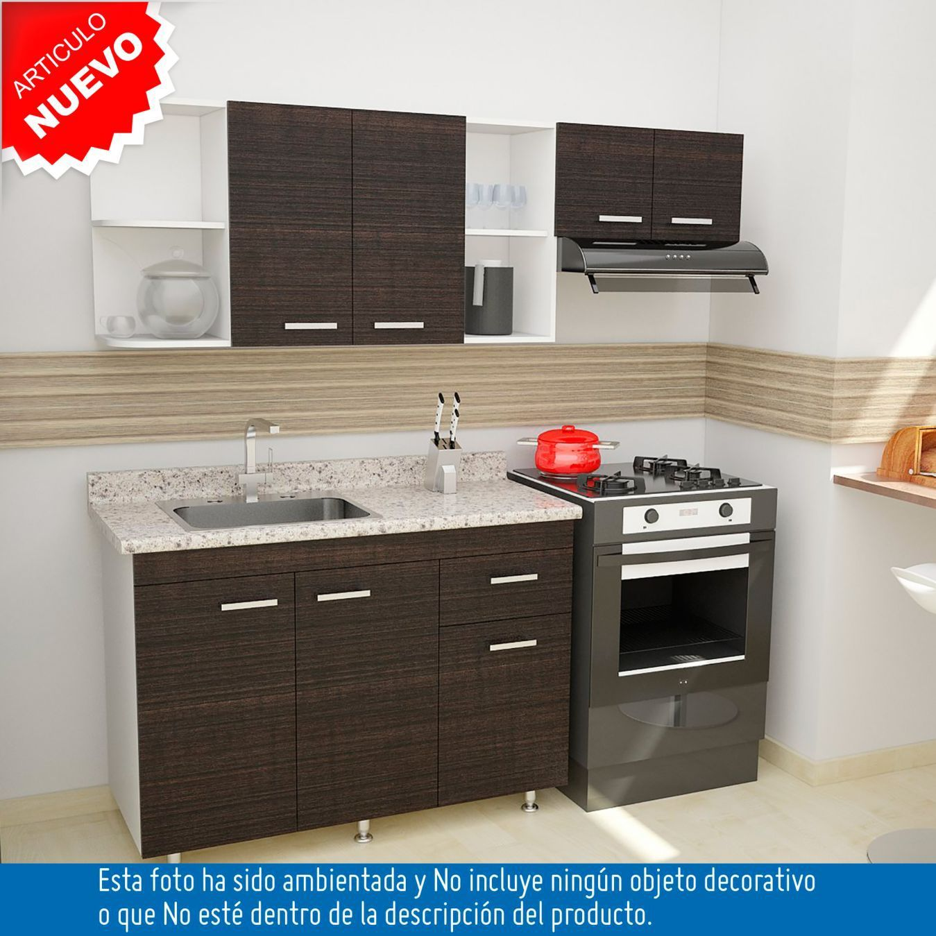 Resultado de imagen de cocinas integrales peque as ideas for Cocinas integrales homecenter cali