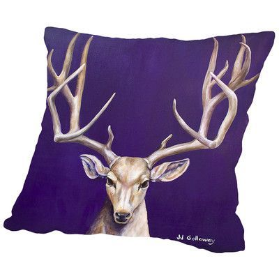 Americanflat I See You 1 Throw Pillow Size:
