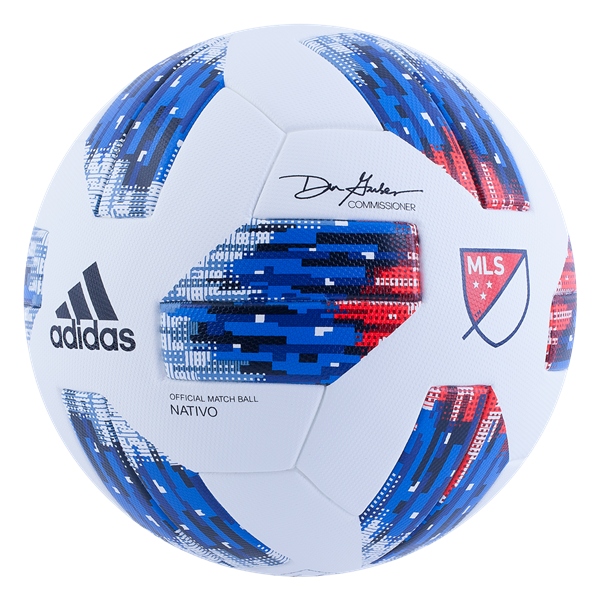 Adidas 2018 Mls Offcial Match Soccer Ball Available Now At Worldsoccershop Com Soccer Ball Soccer Football Ball