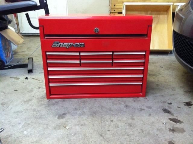 Snap On Tools Road Chest Beautiful Condition Near Mint  Drawertop