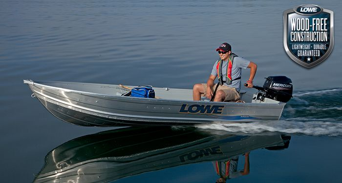 Lowe 1257 Utility V Boat Built With Only The Best Available