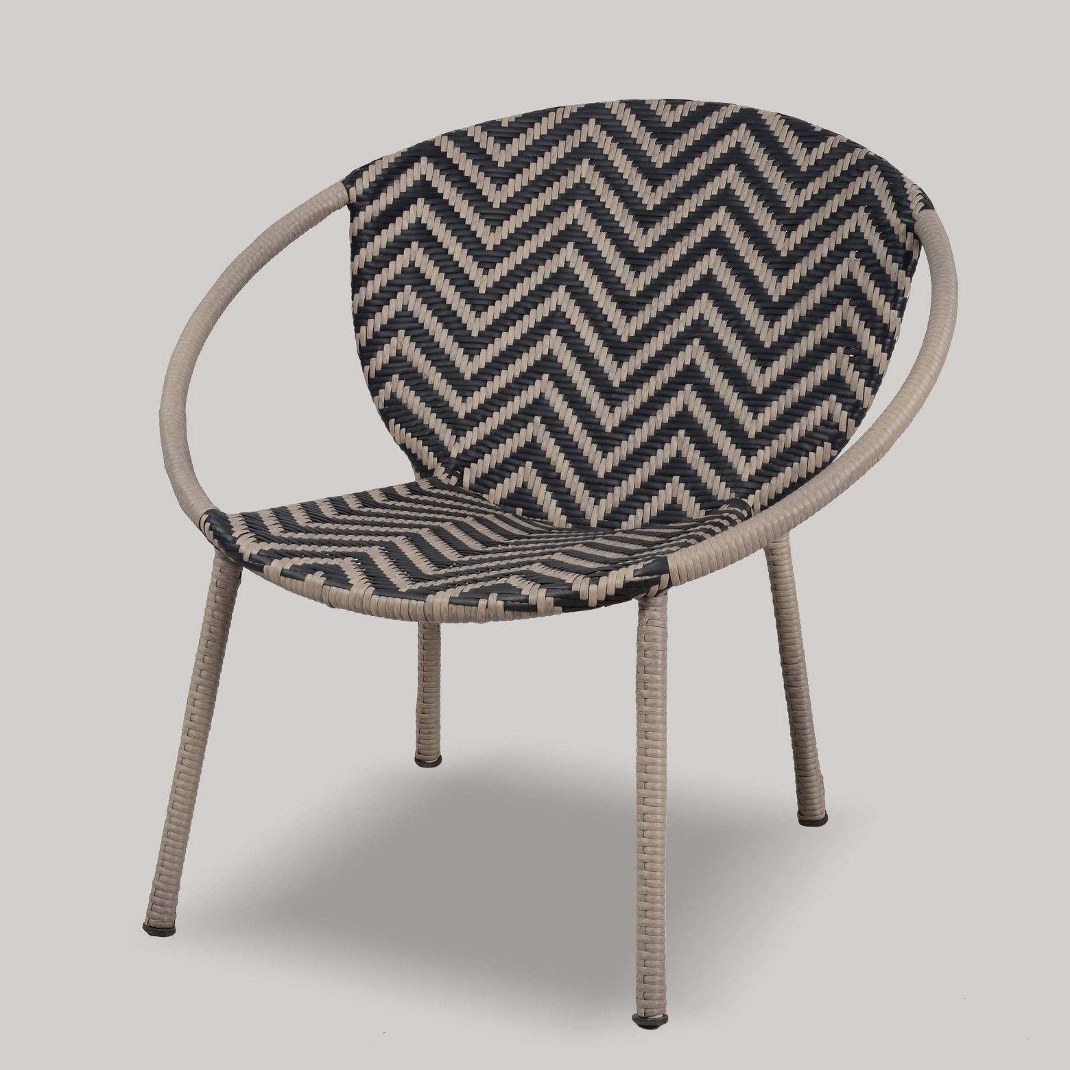 Wicker Pattern Patio Bucket Chair Project 62 $69