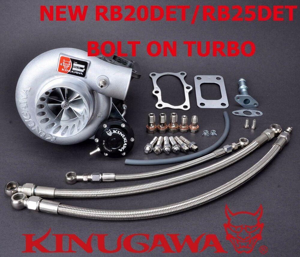 eBay #Sponsored Kinugawa Billet Turbocharger Bolt-On 3