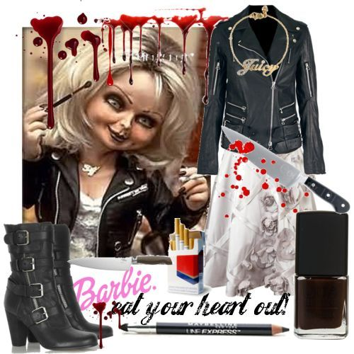 Tiffany Valentine Costume: Style Icon #3 Jennifer Tilly In Bride Of Chucky