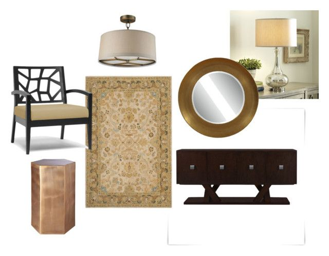 """Joaquin - Foyer"" by orion199 on Polyvore featuring interior, interiors, interior design, home, home decor and interior decorating"