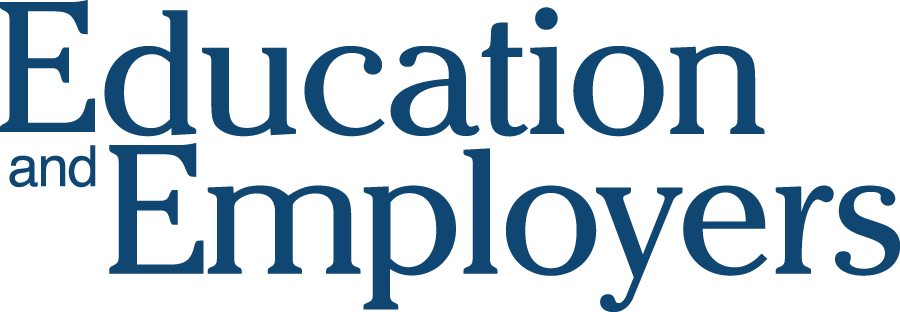 Education And Employers Logo Education Employment Home Education