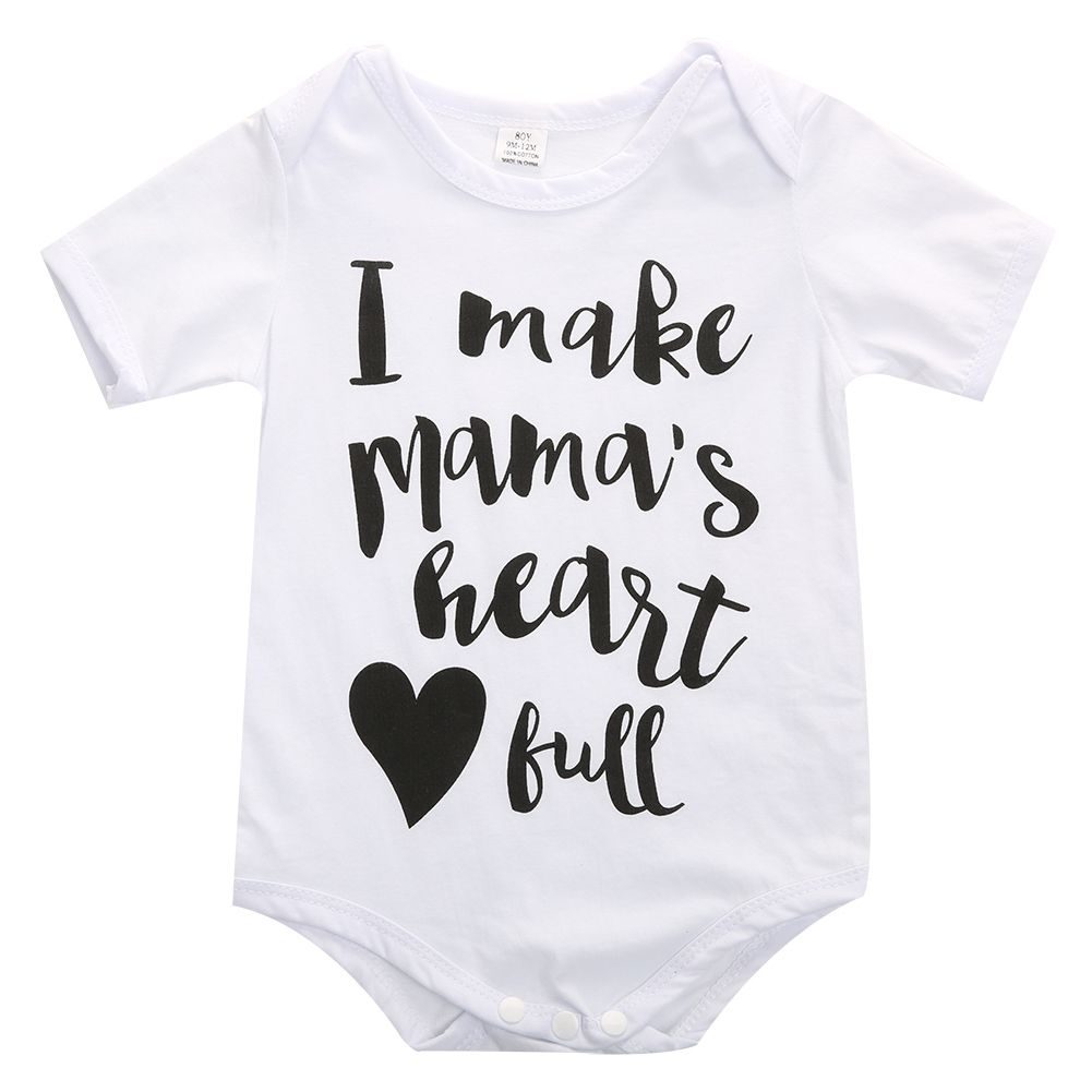 Baby Strampler Neugeborenen Kleidung Krper Kurzarm Bodysuites
