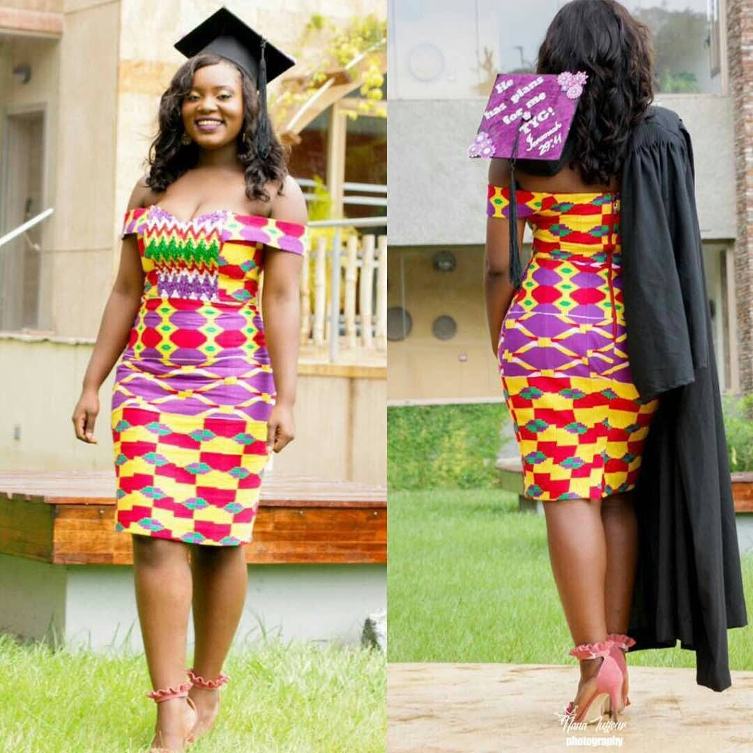Kente Styles For Graduation Kente Designs Pinterest Kente Styles Ghana And Kente Dress