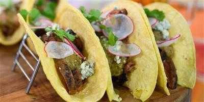 Michael Symons Grilled Rib-eye Tacos