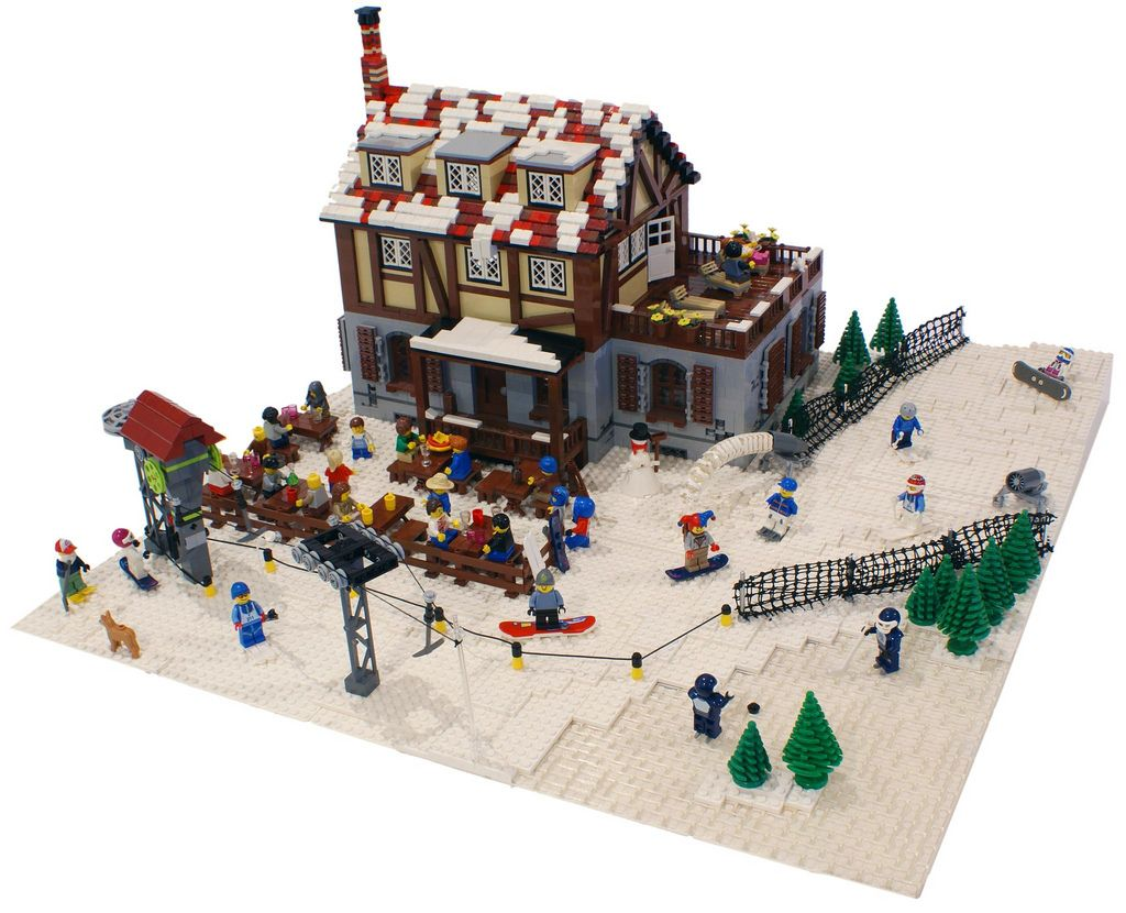 Lego Custom Skiausrüstung Baukästen & Konstruktion
