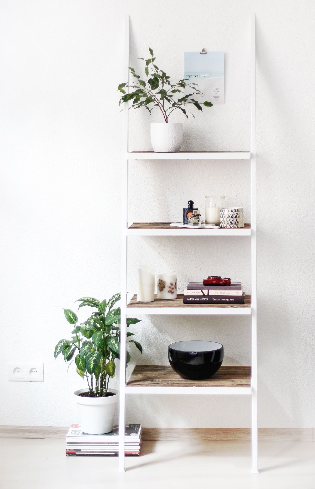 naive wood factory / white shelf Interior, Home decor