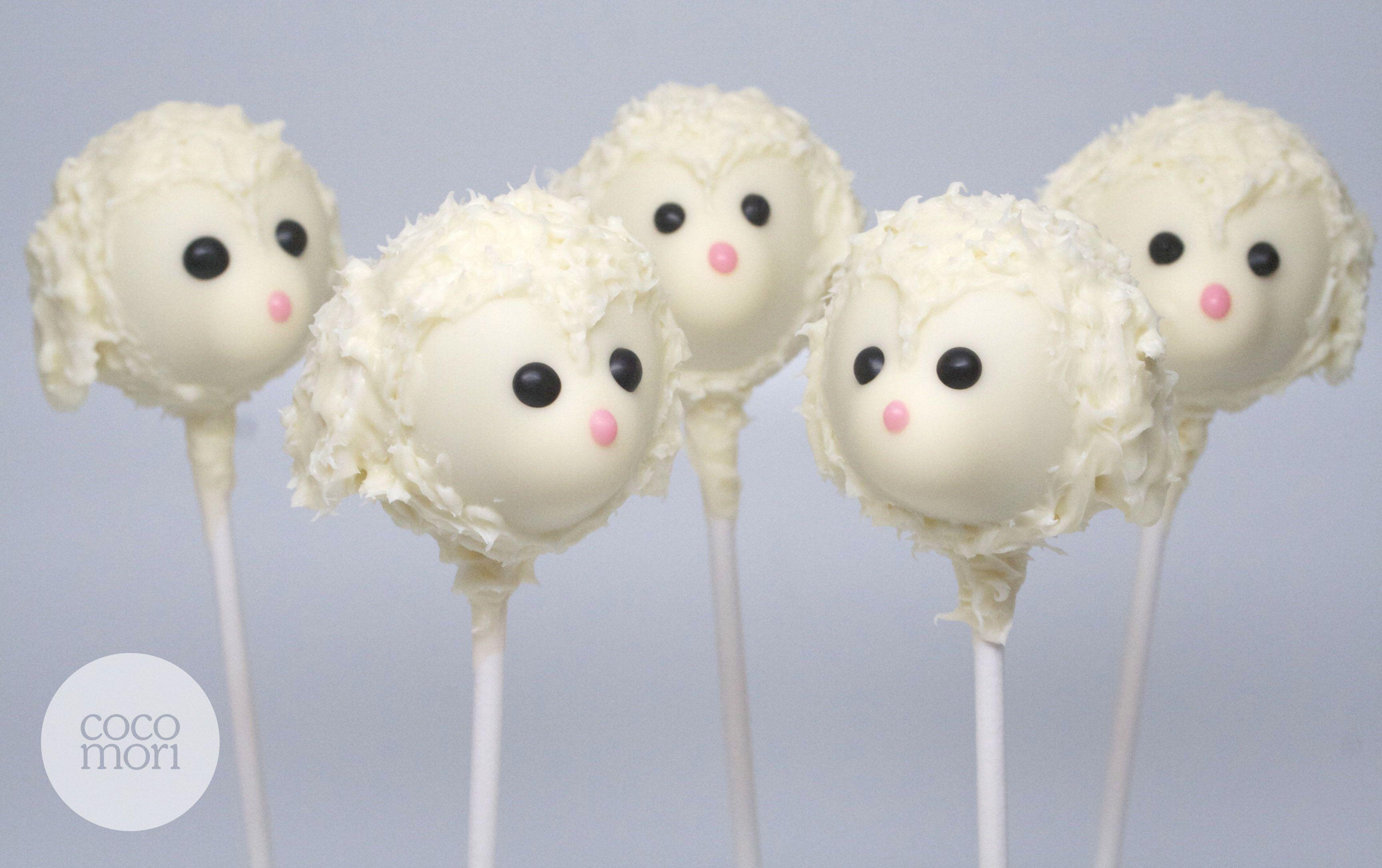 little lamb cake pops cakes and other desserts torten ostern und backen. Black Bedroom Furniture Sets. Home Design Ideas