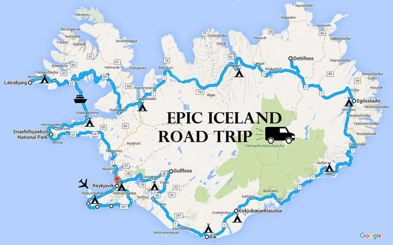 Epic Iceland Road Trip in a Camper Van: Two-Week Ring Road ... on adventure map, history map, folded map, florida map, book map, nature map, rock map, love map, vacation map, science map, cats map, friendship map, us highway map, restaurant map, world map, go map, technology map, random map, black map, vintage map,