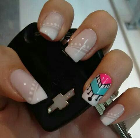 Francés Elegante Uñas Nails Nail Designs Y Nail Art