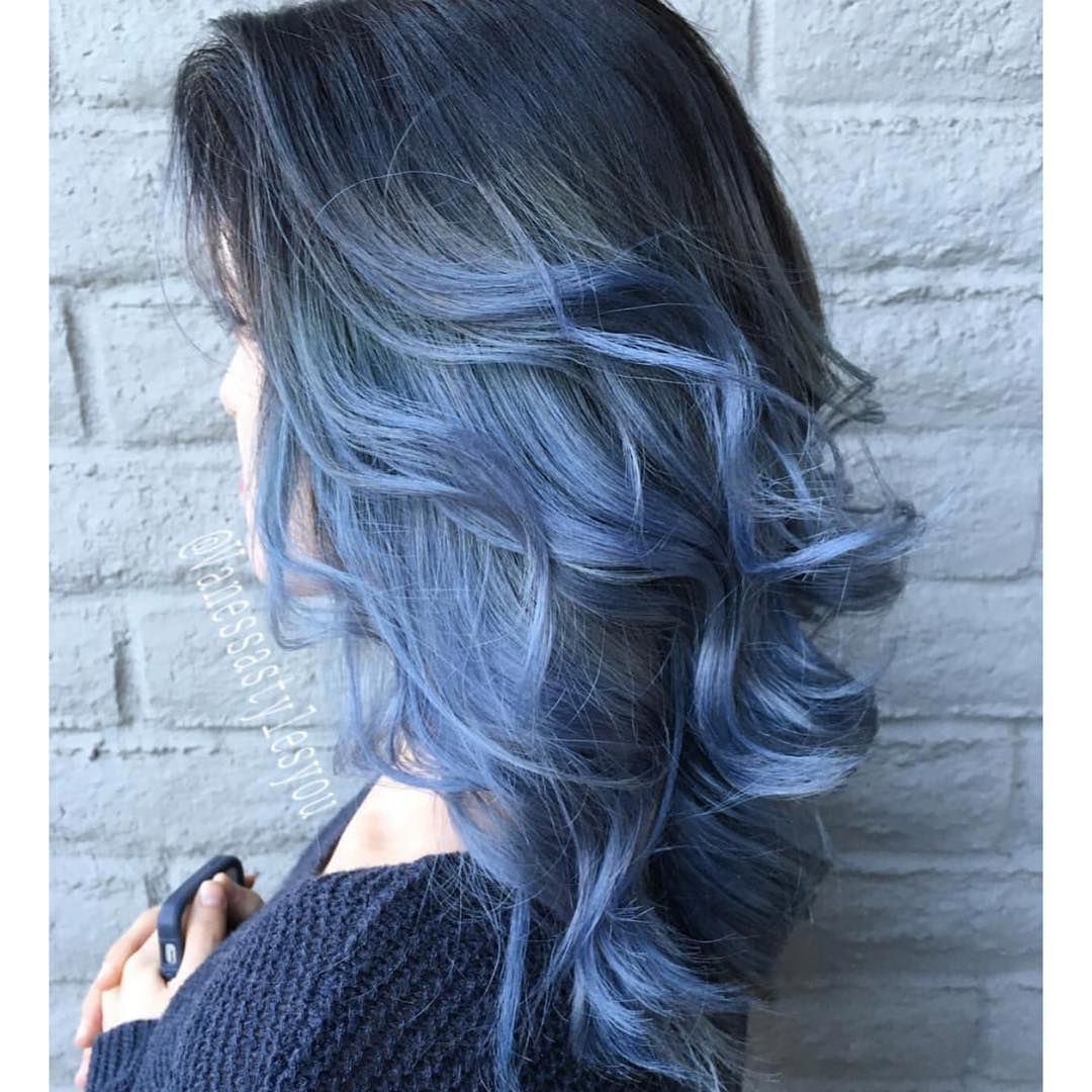Beautiful blue ombré vanessastylesyou  Hair  Pinterest  Hair