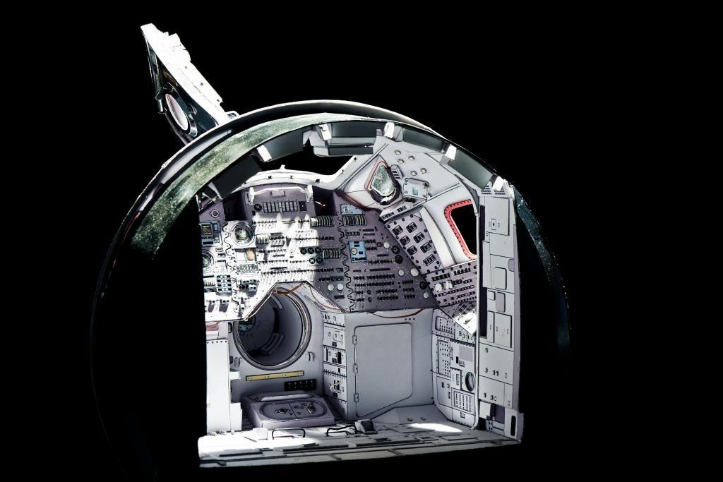 apollo spacecraft paper model - photo #8