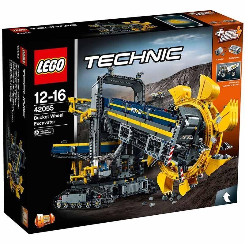 Lego Technic Bucket Wheel Excavator 12 16 Years Forward And Reverse Driving Lego Technic Lego Bucket Lego