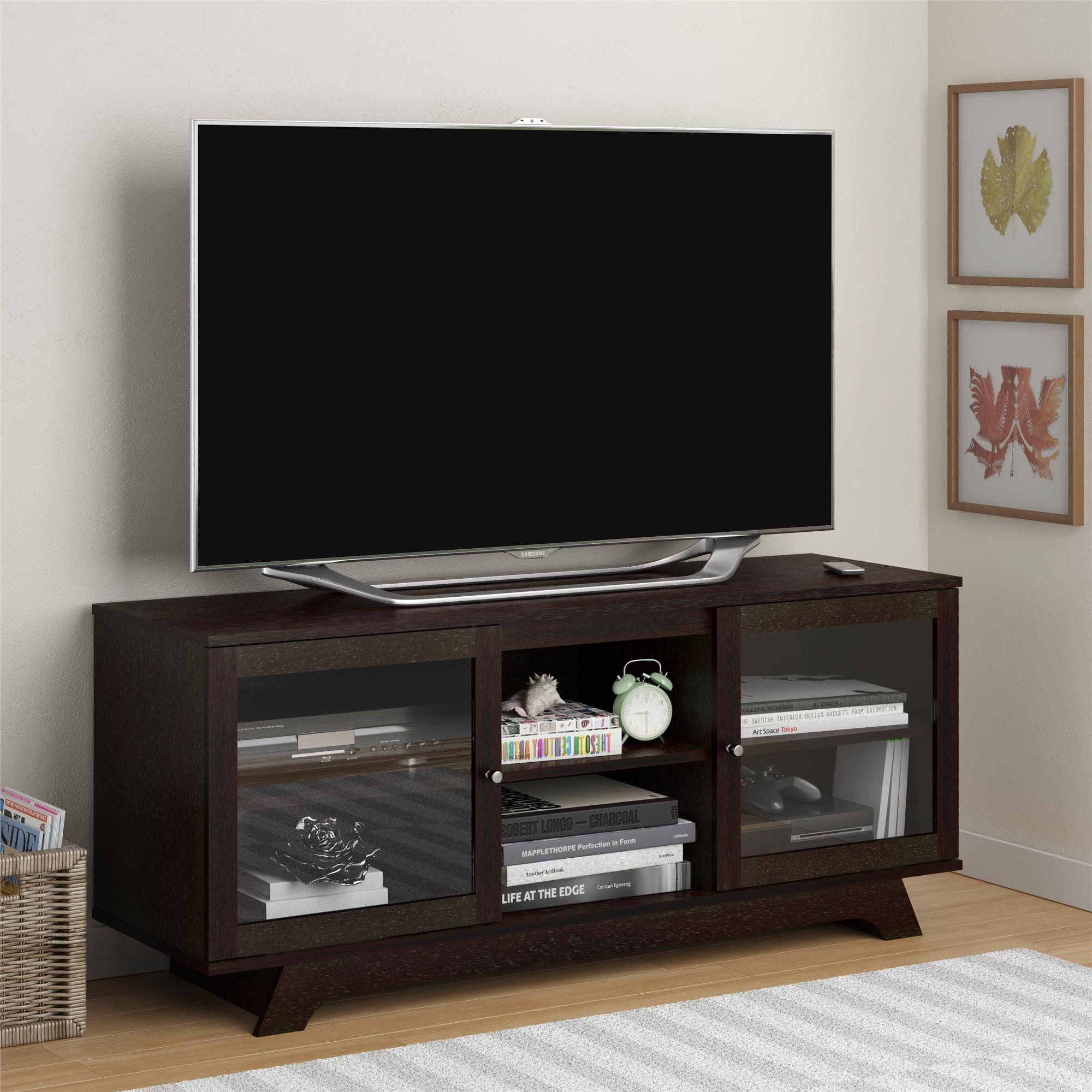 Magnolia 55 Tv Stand Products Tv Stand Decor Modern Corner