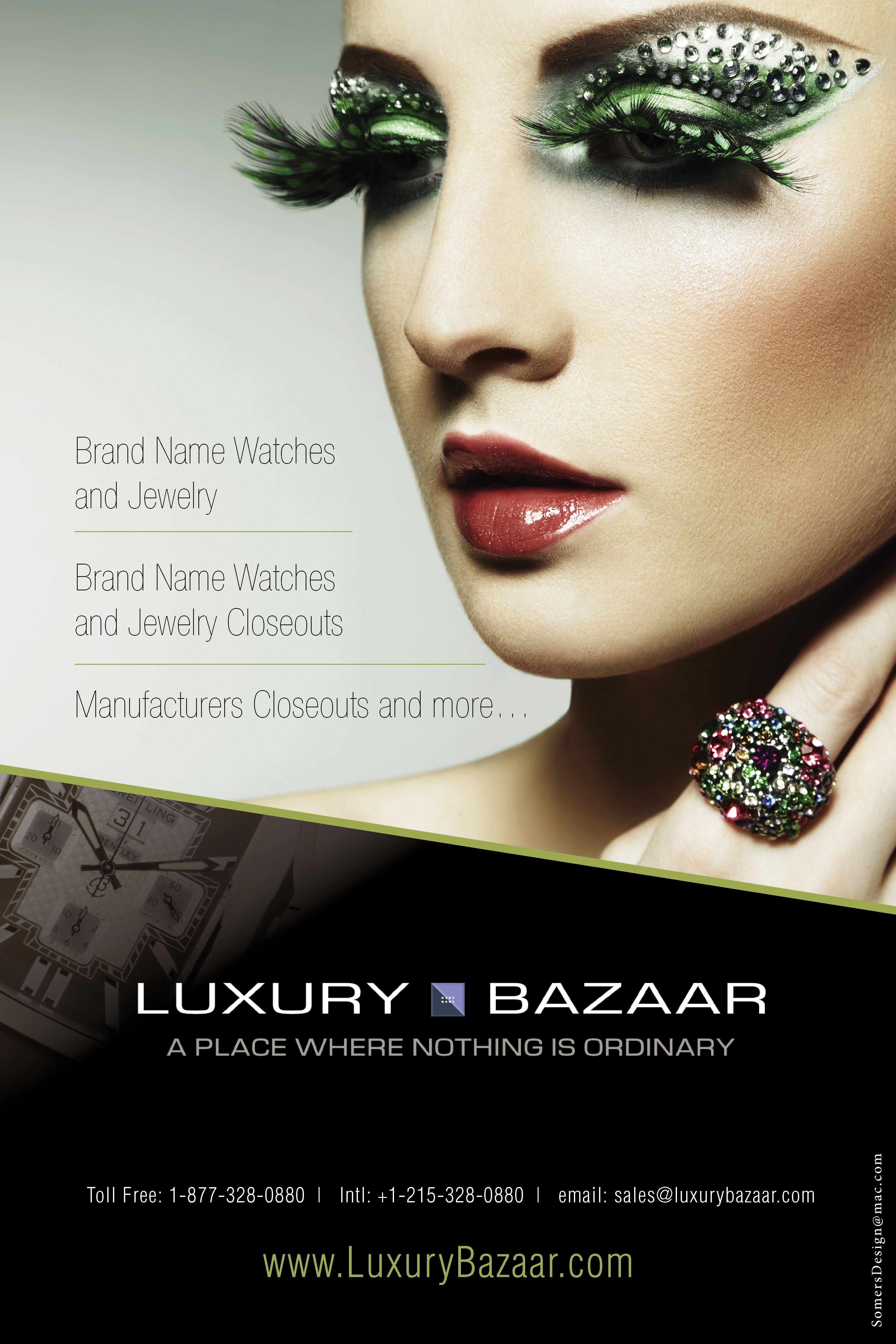 Advertisement design for Luxury Bazaar #Design #GraphicDesign ...
