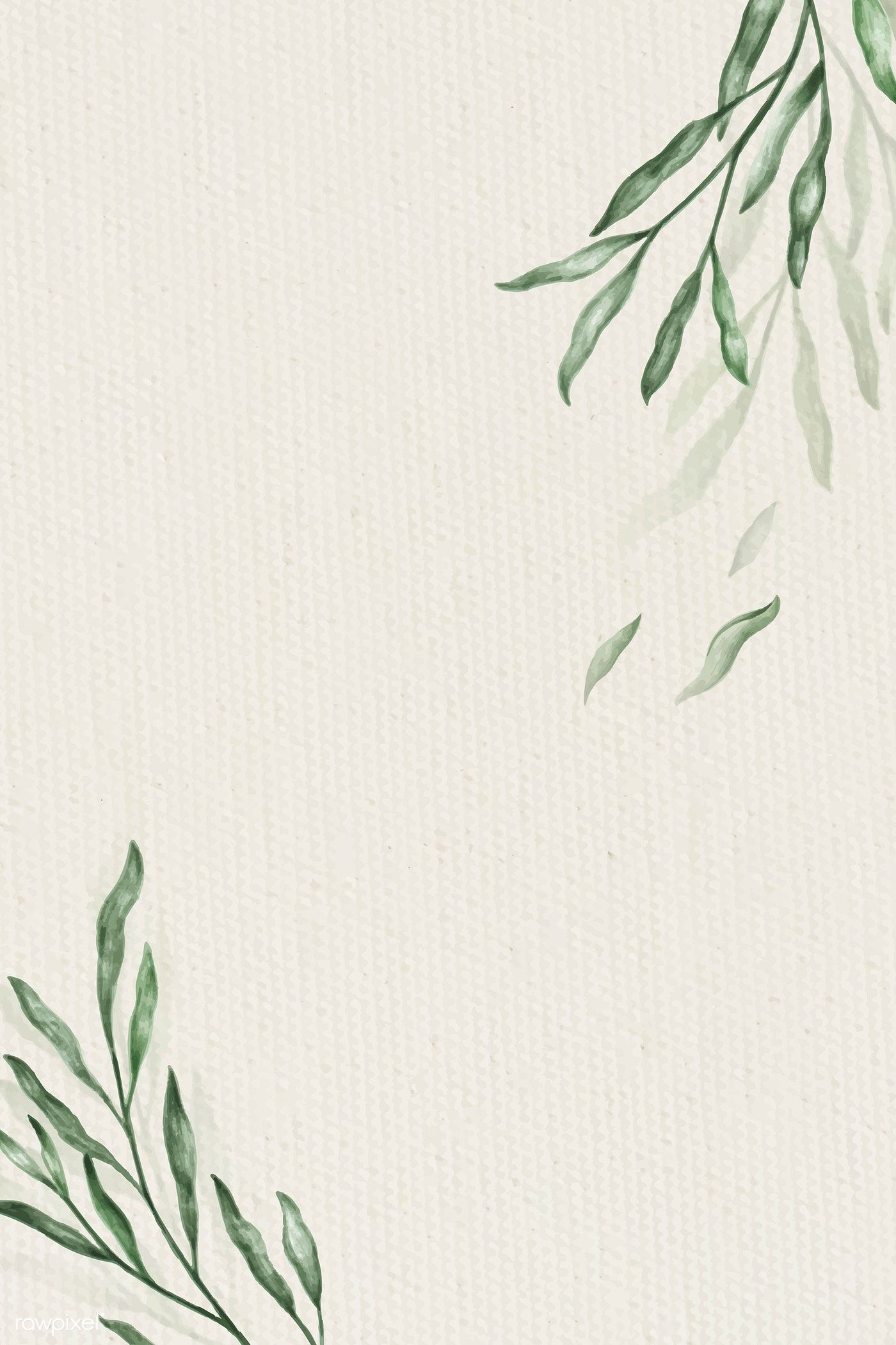 Download Premium Illustration Of Greenery Frame Illustration