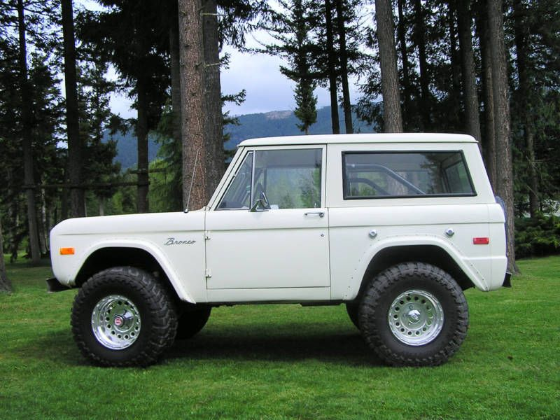 1972 Ford Bronco  Whatever year I end up with Im calling her OJ