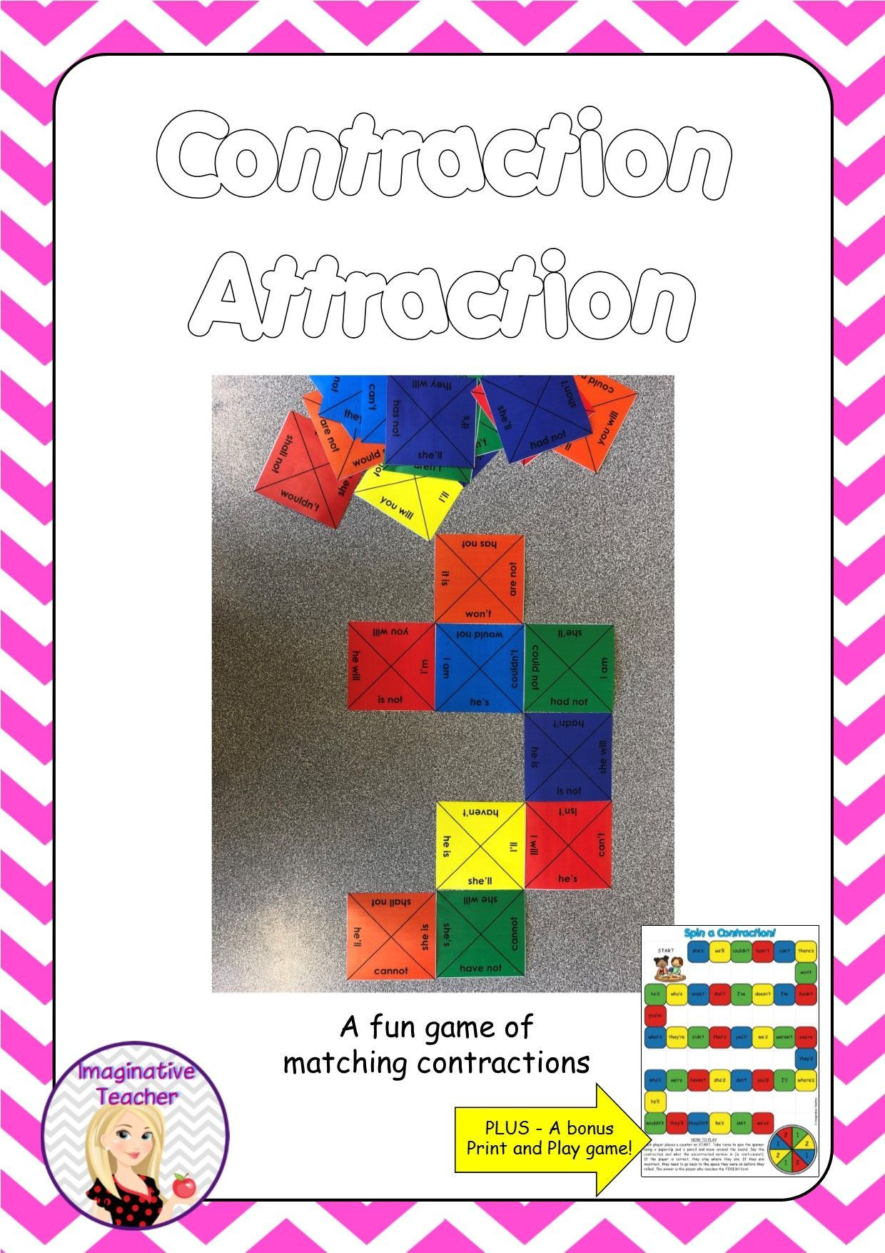 Contraction Attraction Game