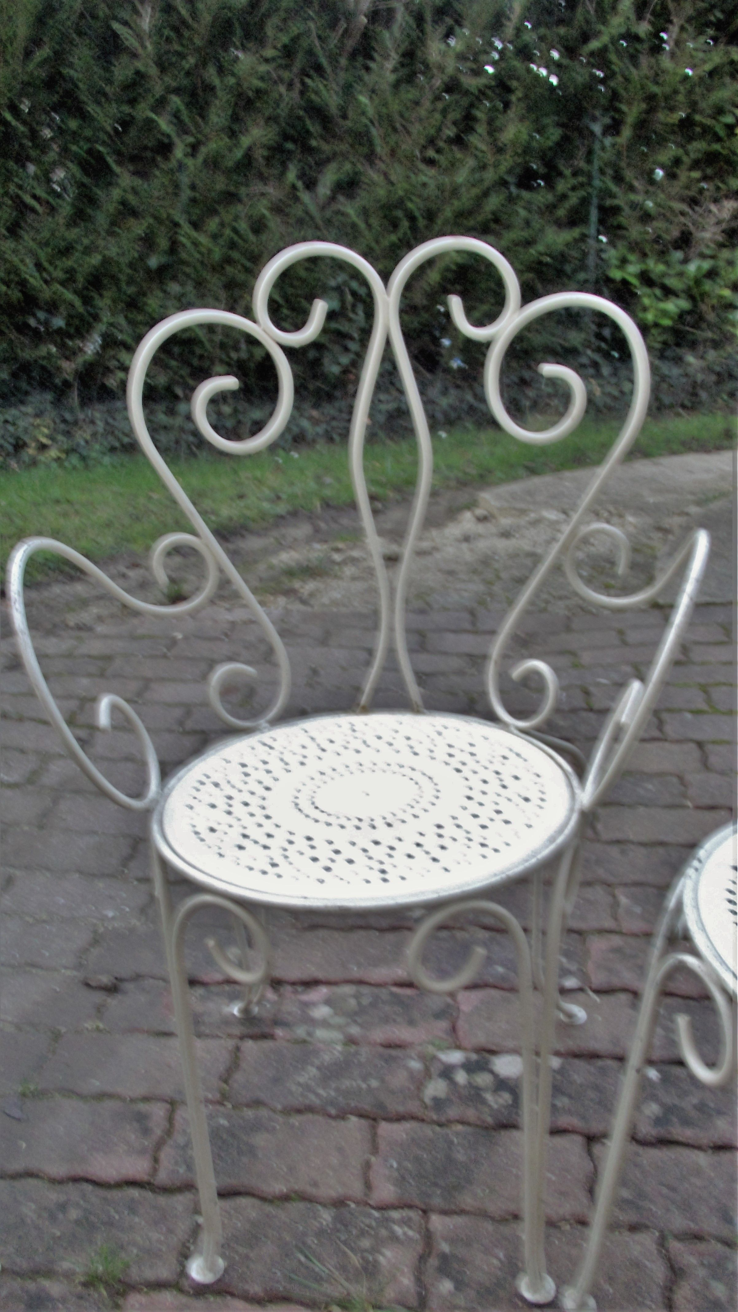 chaise fer forg ancienne janv 2016 - Chaise Fer Forge