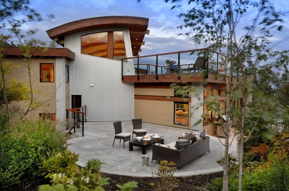 terraza-muebles-de-terraza-jardinjpg (940×624) Casas Pinterest