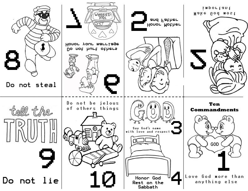 Preschool 10 Commandments Preschool Bible Lessons 10 Commandments Craft Sunday School Preschool