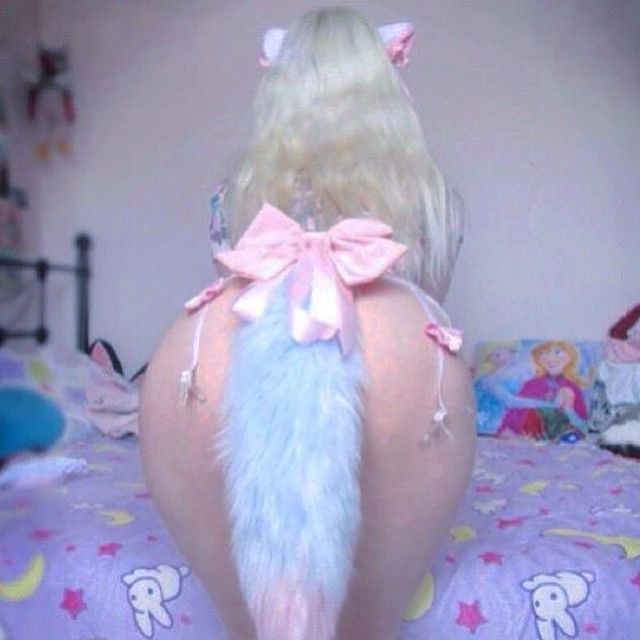 Instagram post by l i t t l e k i t t e n ddlg - Pink fox instagram ...