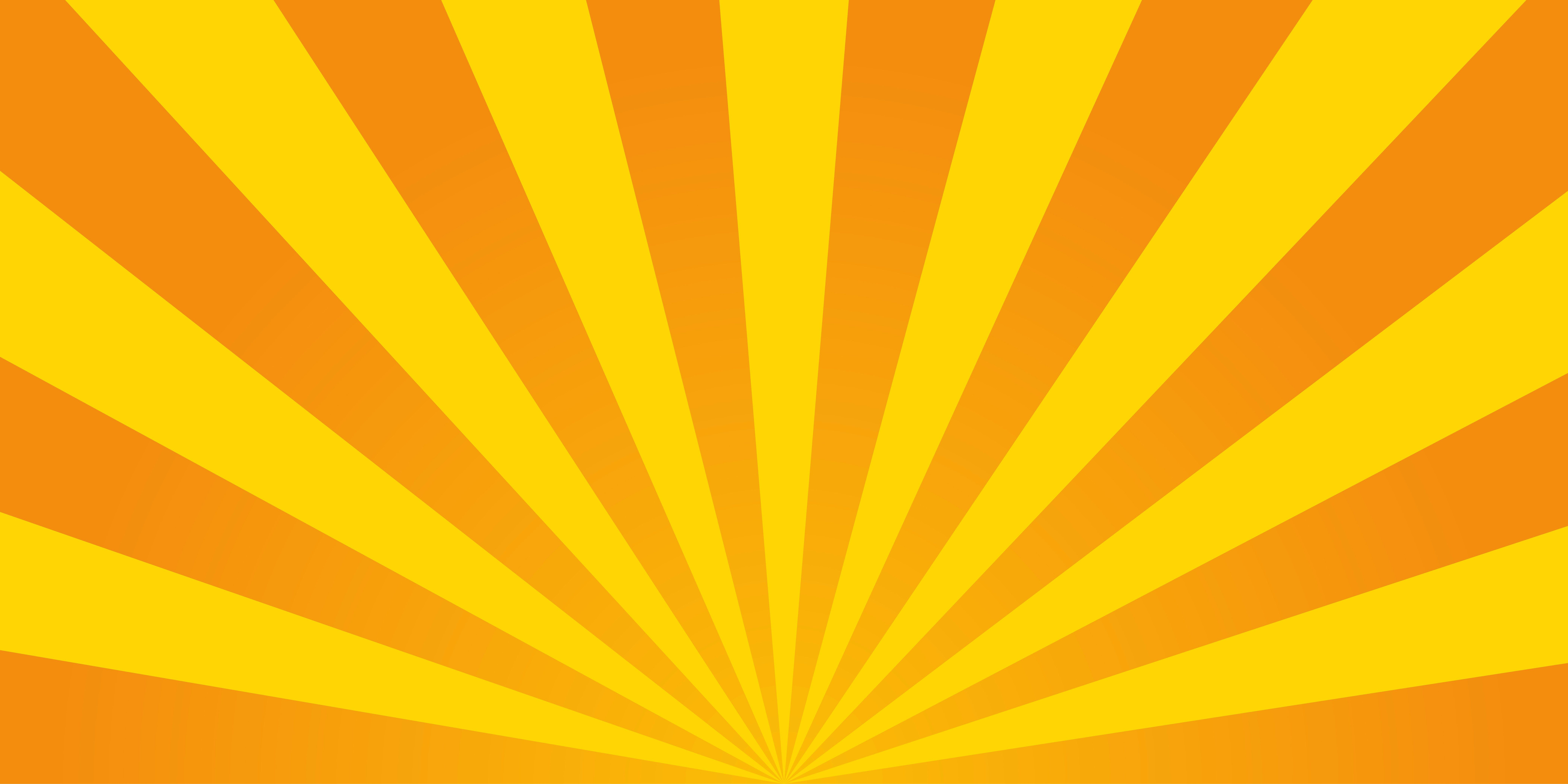 Retro ray orange background by vivat on @creativemarket in ...