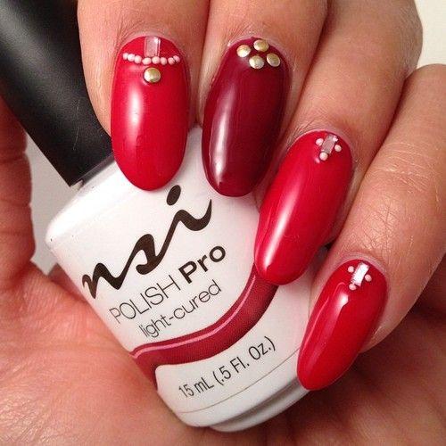 Love This Bling'd Out Polish Pro Gel Manicure!  www.nsinails.com #NSI