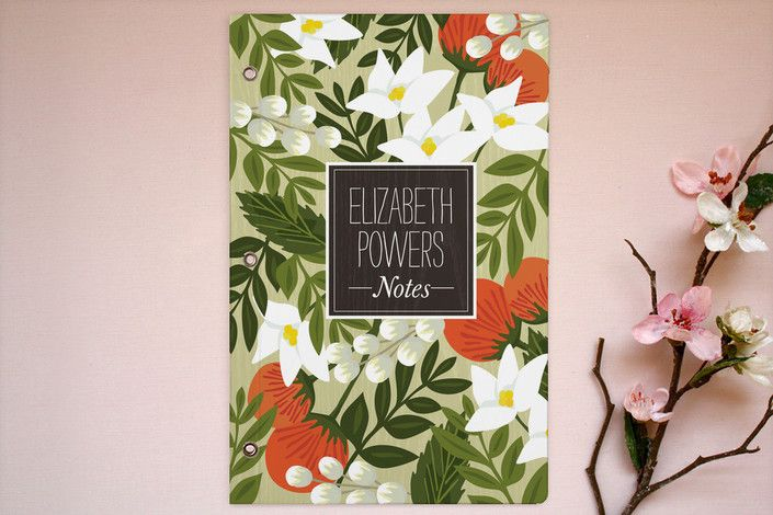 Blossoming Rainforest Journals by Griffinbell Paper Co. at minted.com