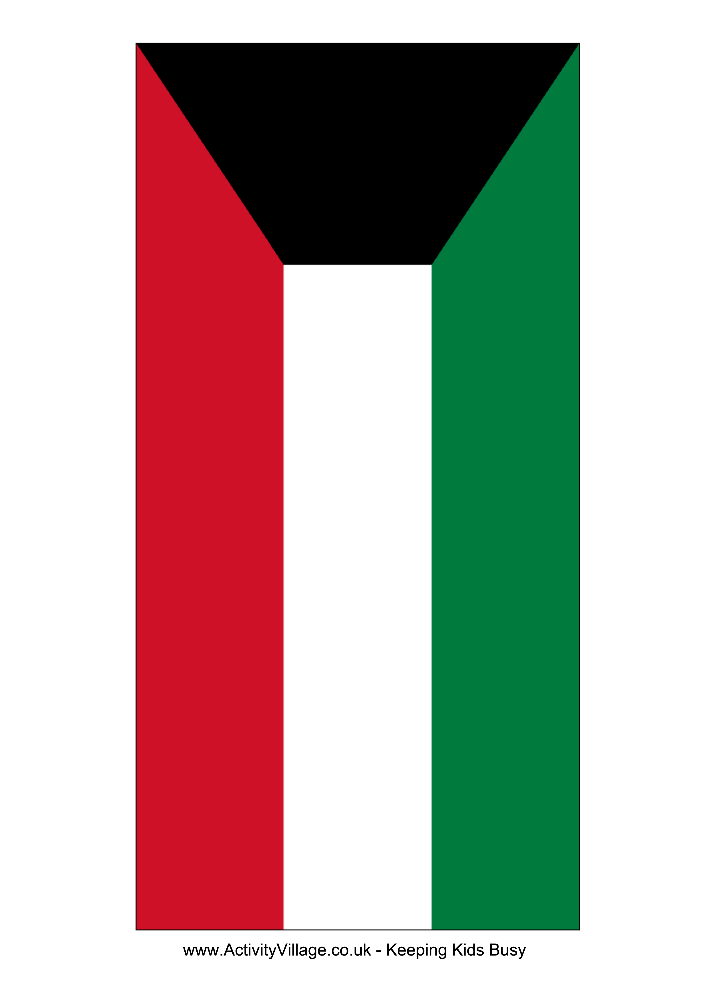 Kuwait flag free printable kuwait flag templates pinterest kuwait flag free printable kuwait flag toneelgroepblik Image collections