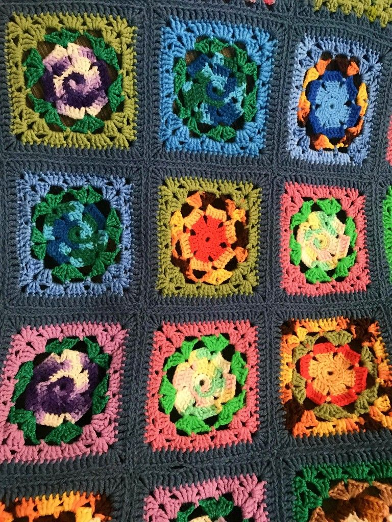 Pin by Camille F on Crochet Unusual Blankets (With images ...